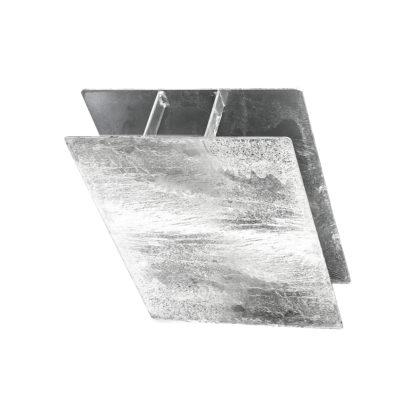 """Držák desky """"H"""" výška 200 mm, průměr 60 mm"""