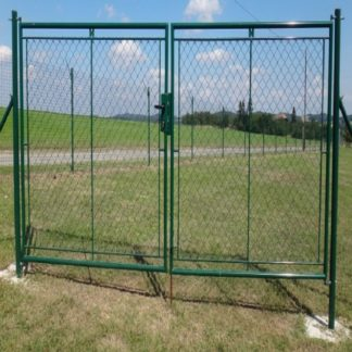 Zahradní brána STANDARD FAB dvoukřídlá, 360 x 200 cm