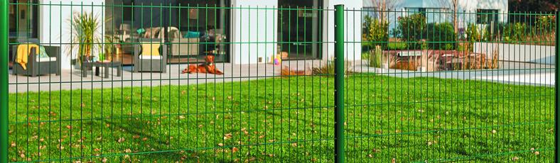 Svařované plotové panely 2D